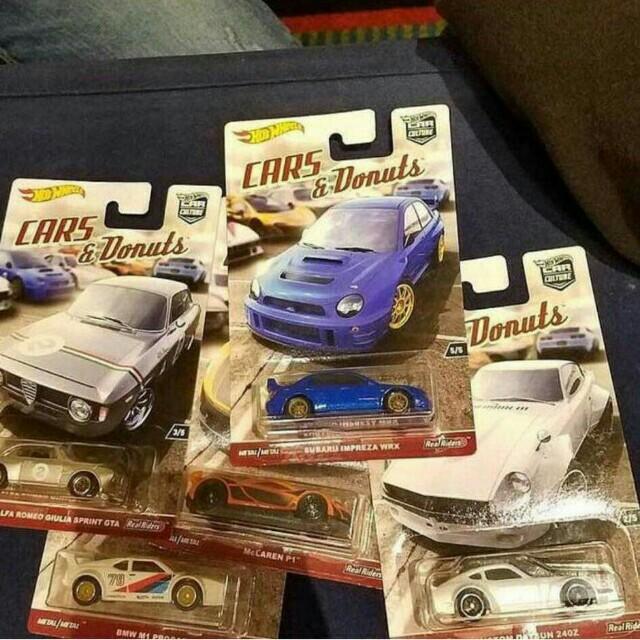 Cars & Donuts (Pre-Order), Mainan