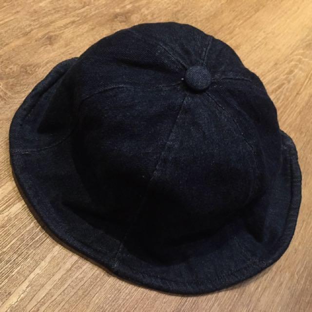 Indigo 單寧漁夫帽