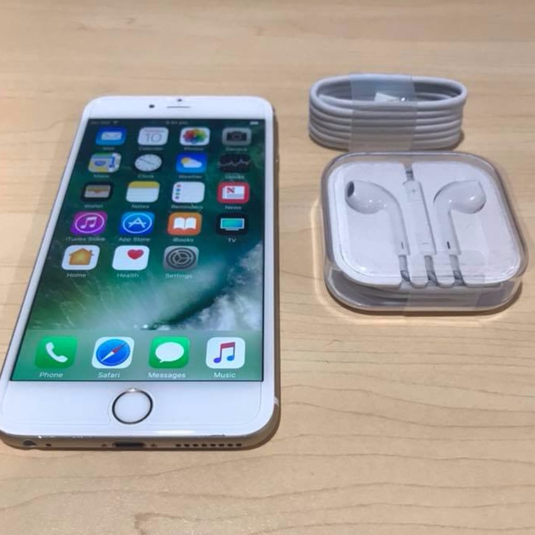 iPhone 6 Plus 16Gb. Gold/White with 3 Month warranty