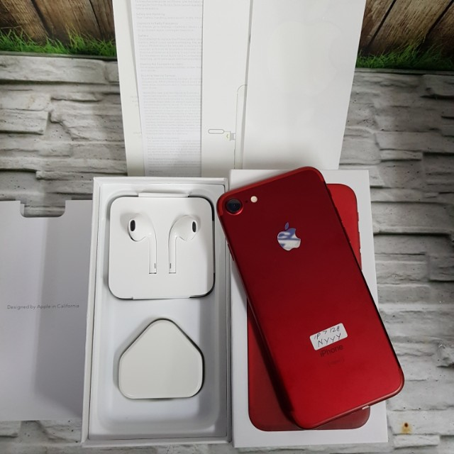 Iphone 7 128GB red edition Super Mulus Perfect no cacat