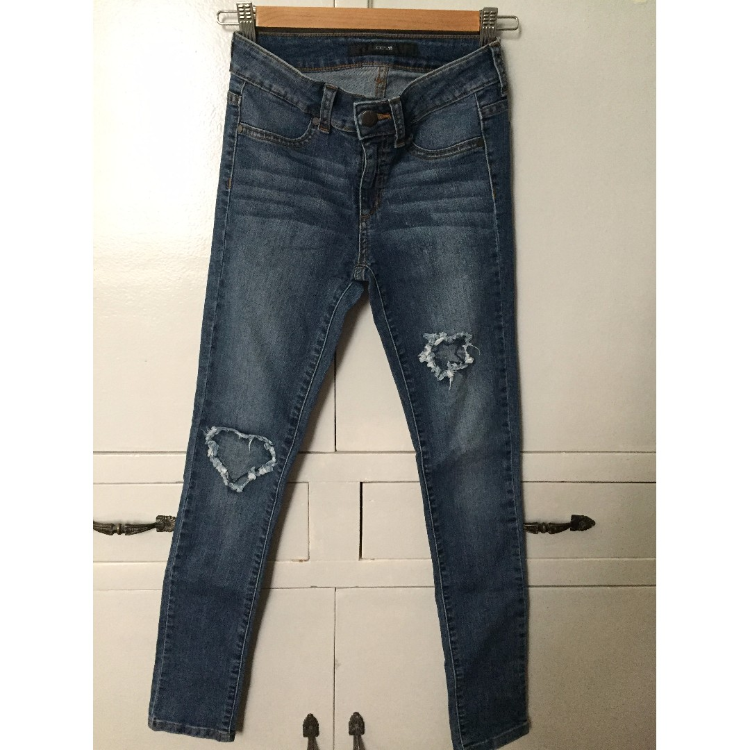 Joe's Jeans Mary Insert Patch Jeggy (Big Girls)