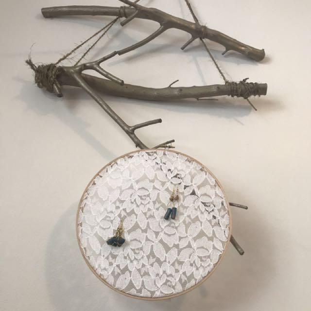 Lace Jewellery Hanger