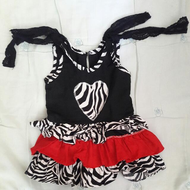 Lace Tie Strap Dress