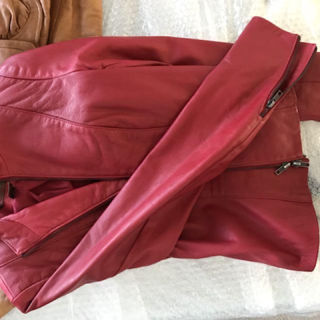 Leather jacket no damage