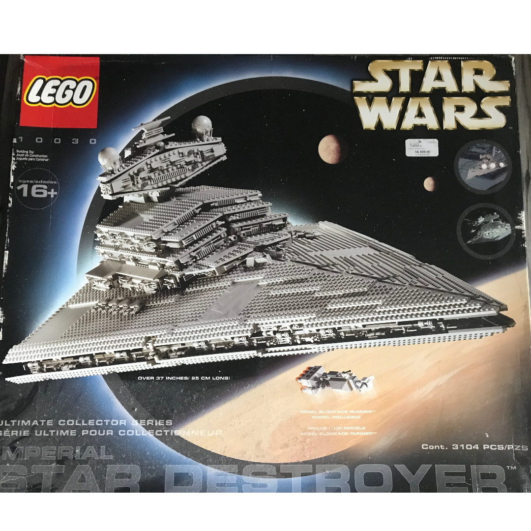 446b33bf00c Lego star wars vintage Star Destroyer 10030
