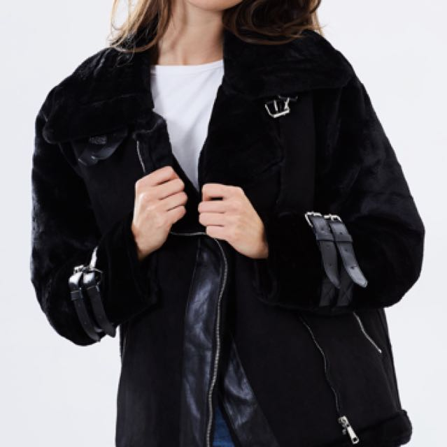 Lioness Empire Buckle Coat