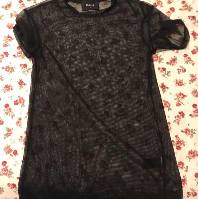 M Boutique Mesh Shirt