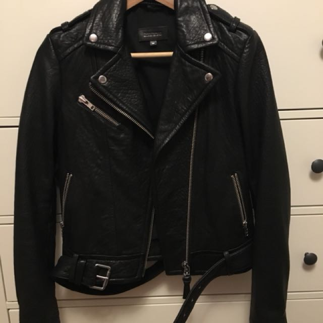 Mackage Rumer leather jacket