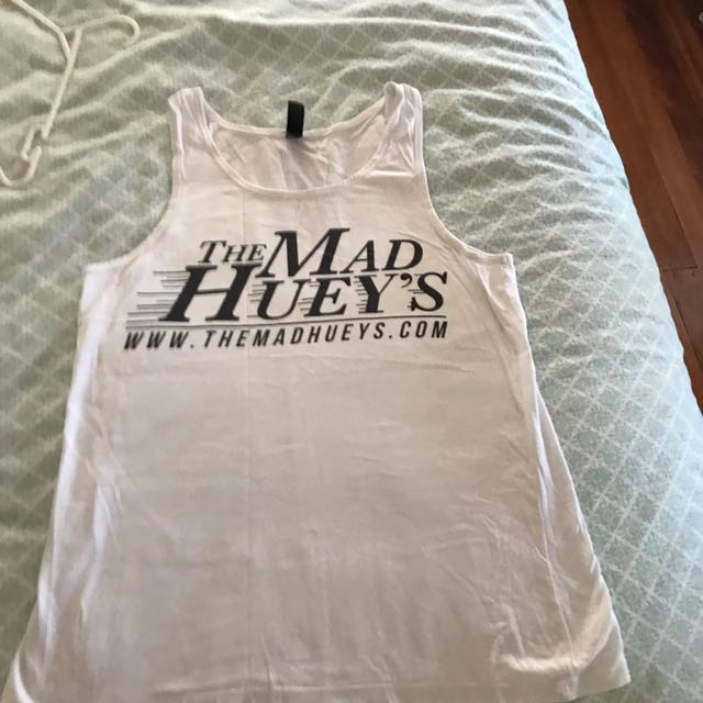 Mad Huey's tank gym top