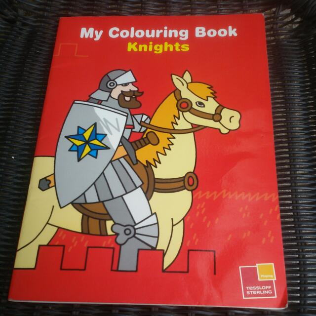 My Colouring Book Knightstessloff Sterlingfull Barubeli Di
