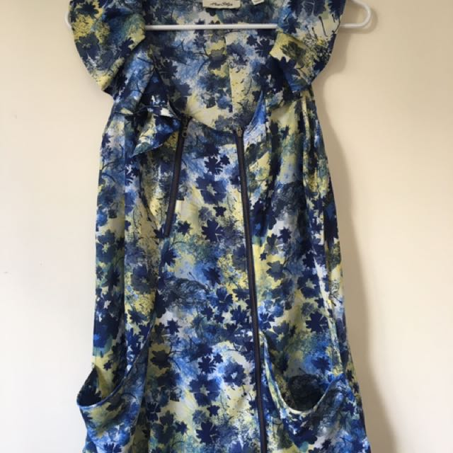Myer Floral dress size small