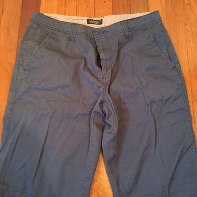 Navy Chino Shorts JeanWest and Bossino