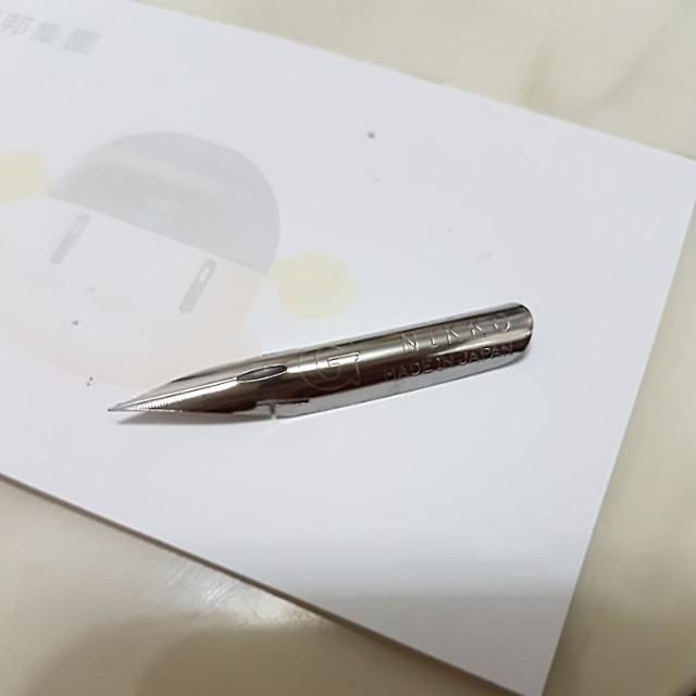 Nikko畫漫畫筆尖