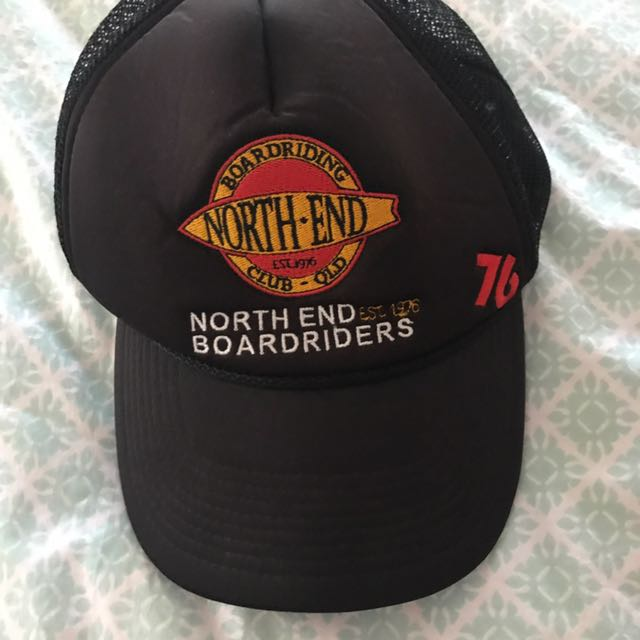 North end board riders trucker hat