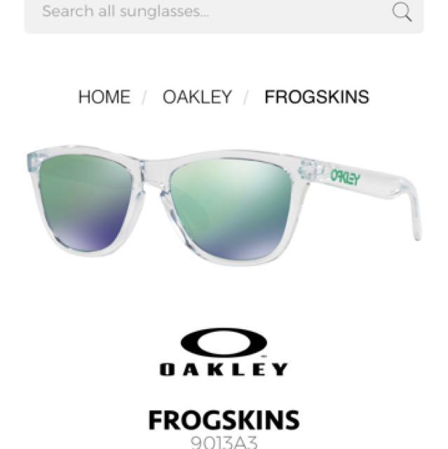 Oakley Sunglasses Frogskins (BRAND NEW) rrp$170