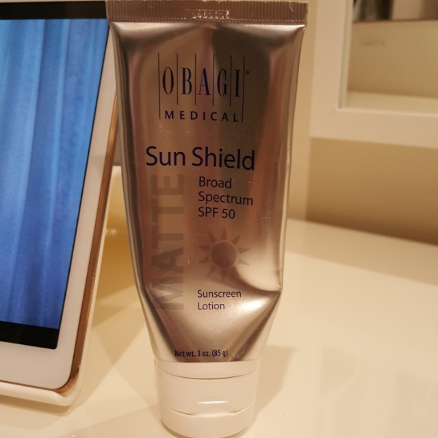 Obagi medical sun shield matte
