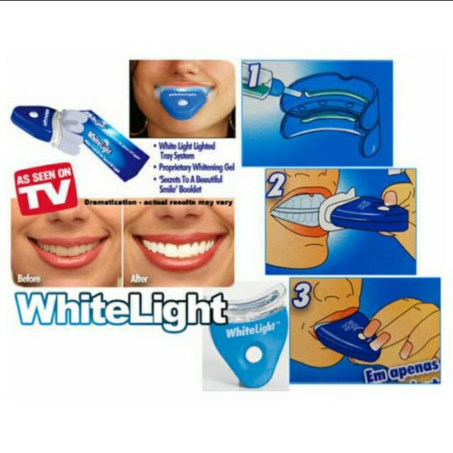 Pemutih Gigi White Light Health Beauty Perfumes Nail Care