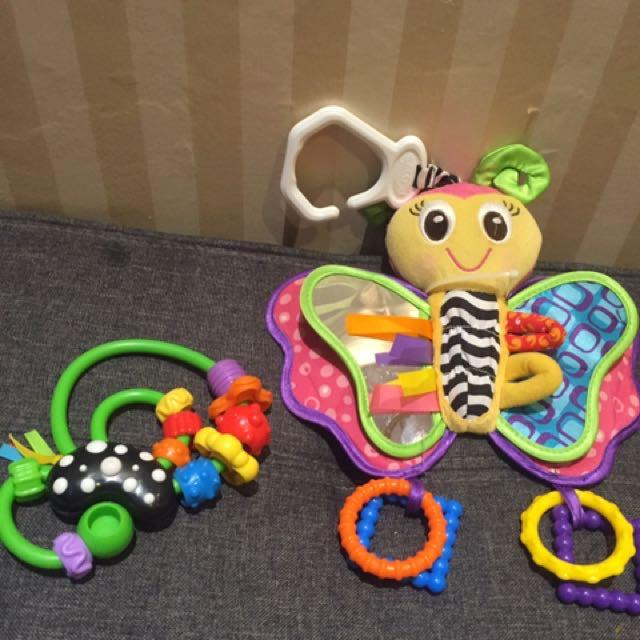 Playgro mainan gantung baby