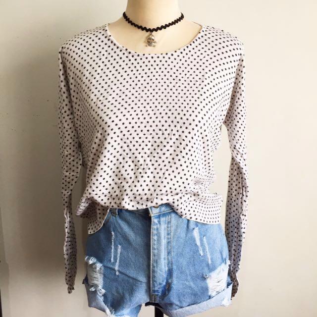 Polka pullover