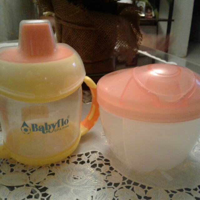 Powder milk container & juice container