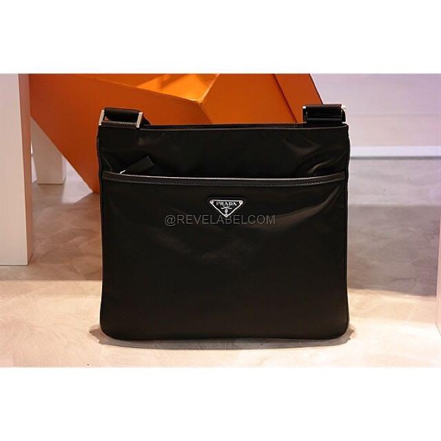 4baa5bf796 Prada Messenger Bag 2VH053 064 V OOO F0002