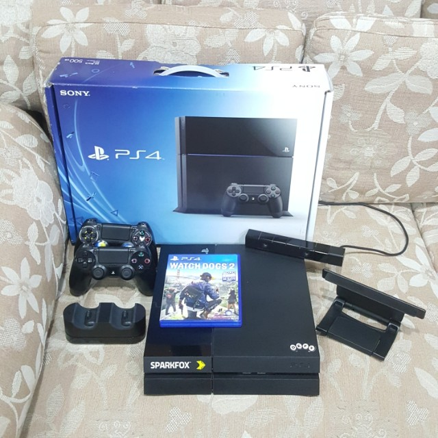 Pre loved Ps4 500gb