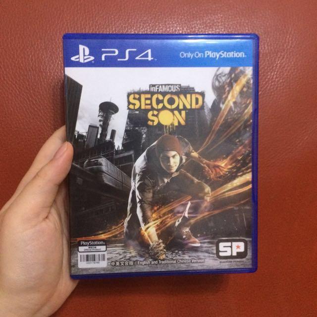 PS4 inFAMOUS Second Son 惡名昭彰:第二之子 中英文合版