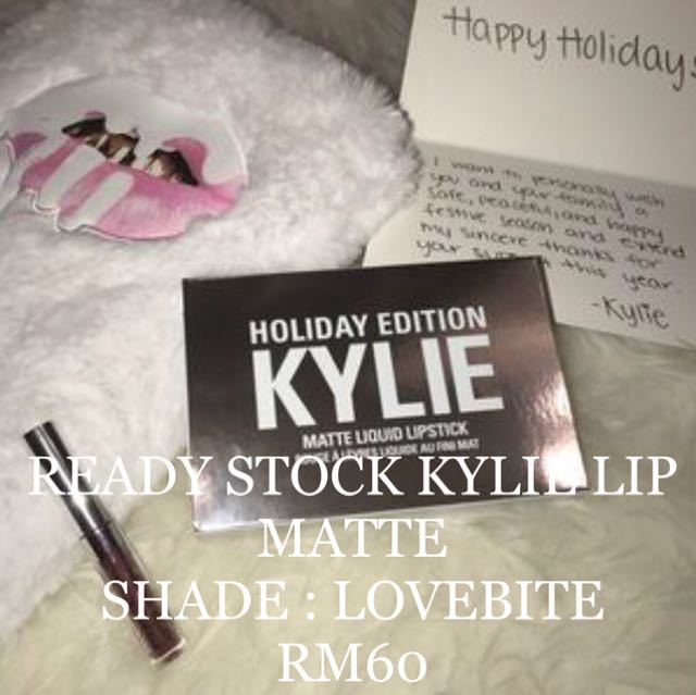 READY STOCK AUTHENTIC KYLIE LIP MATTE