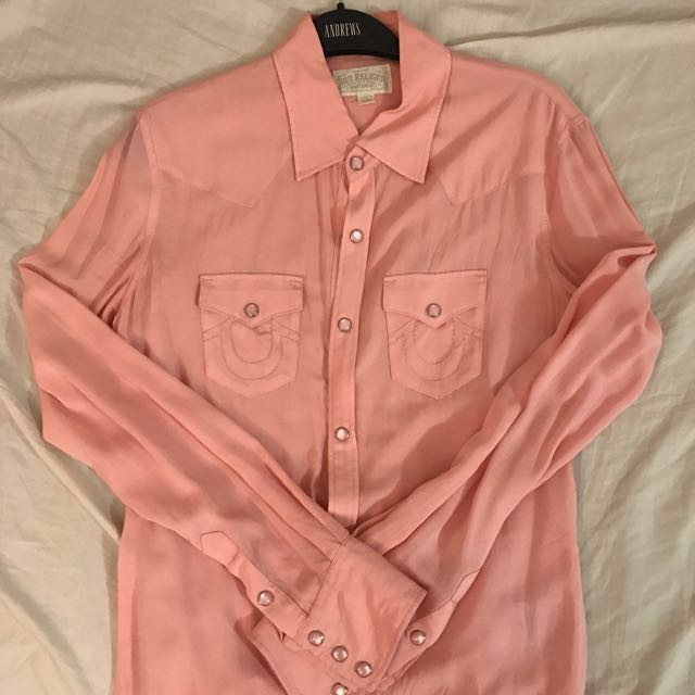 🚨REDUCED: TRUE RELIGION Button-up Blouse