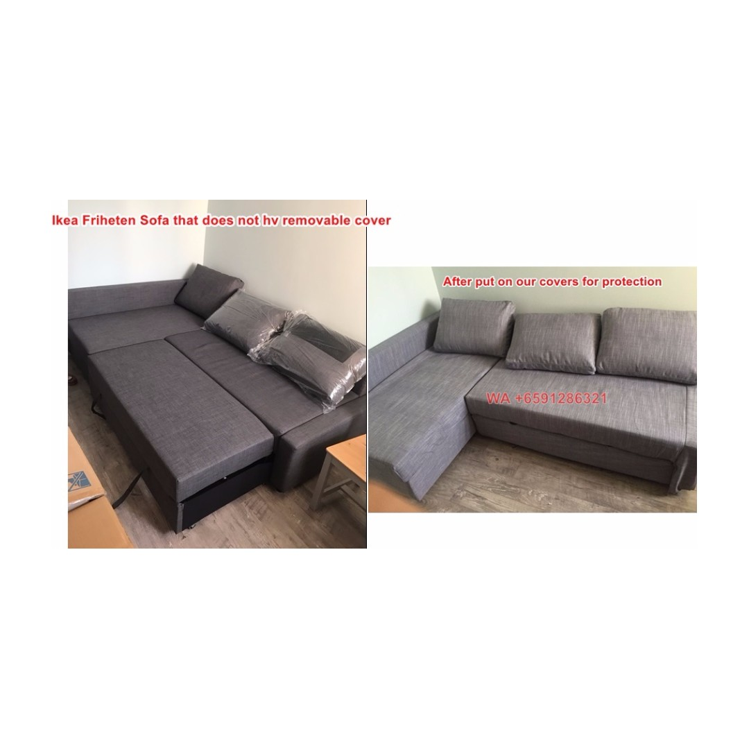 Removable Cover Ikea Friheten L Sofa Bed Cover Made To Order