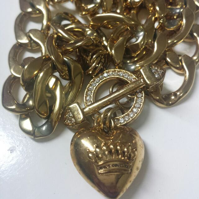 REPRICED Authentic Juicy Gold Chain Necklace