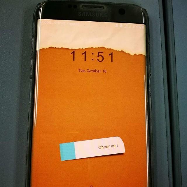 Samsung S7 Edge Duos Gold
