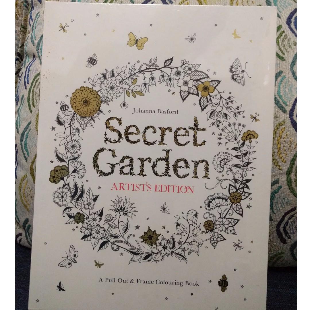 Secret Garden Artist's Edition coloring ...