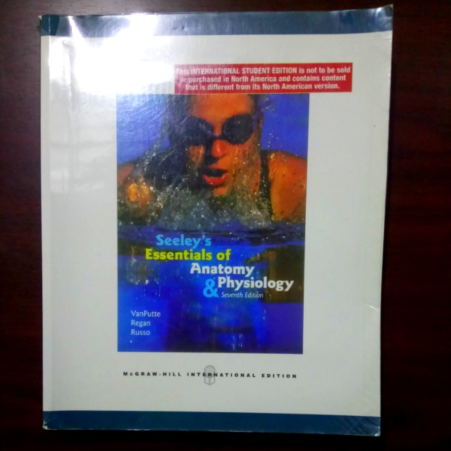 Seeley\'s Essentials of Anatomy & Physiology, Textbooks on Carousell