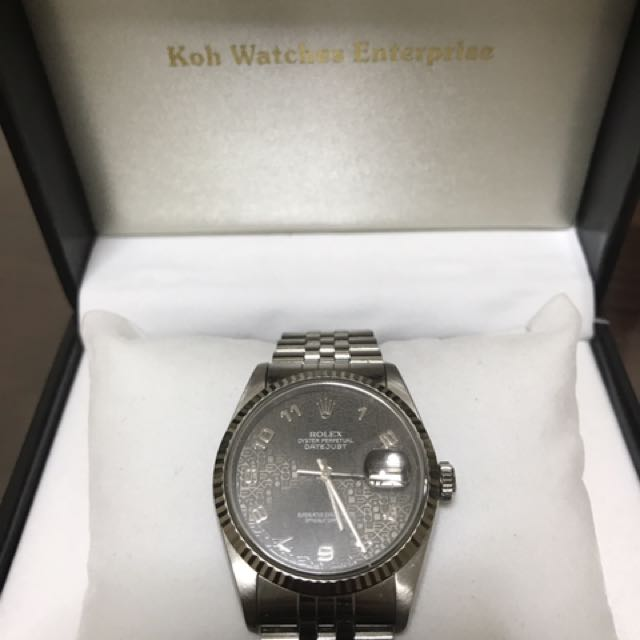 Sell My Rolex 16234 Or Trade With Other Models Luxury Watches On