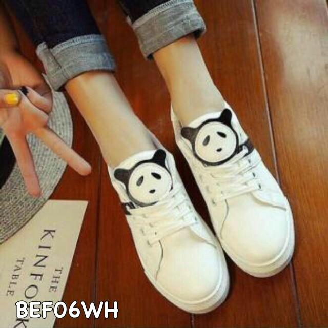Sepatu Wanita Murah Sneakers Panda BEF06WH