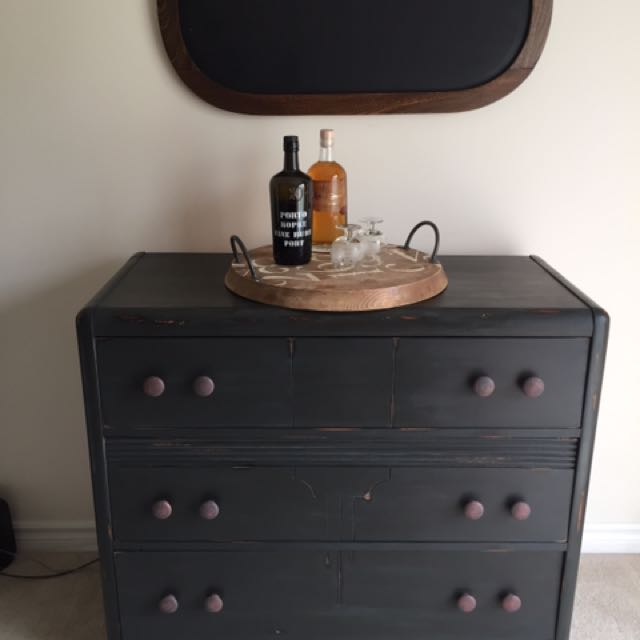 Shabby Chic Solid Wood Antique Dresser