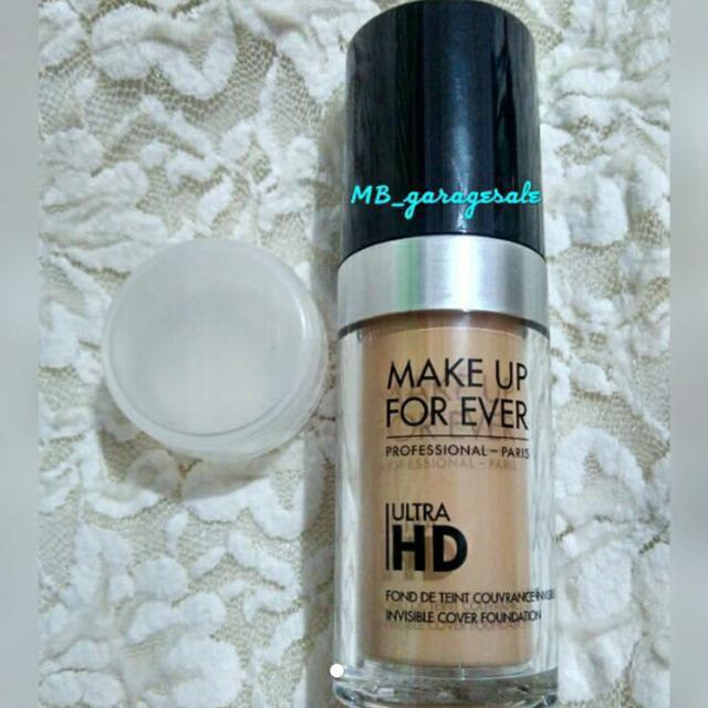 ((SHARE IN JAR)) MAKE UP FOR EVER UltraHD Fond De Teint Foundation