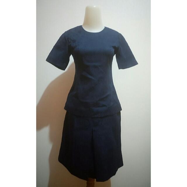 Skirt & Blouse look-a-like Dress