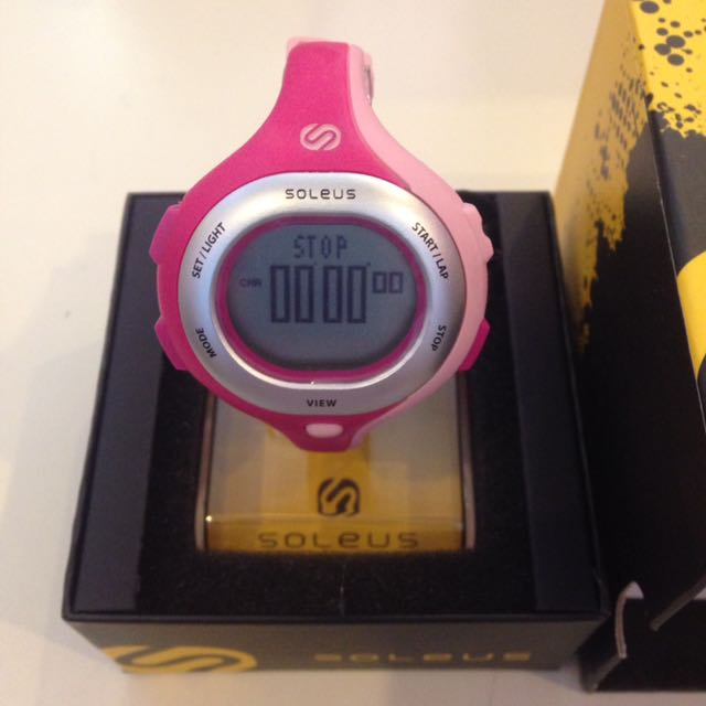 8d70532c63b8 Soleus Chicked Women (Pink) Digital Running Watch