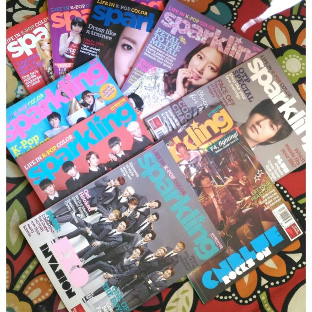 Sparkling Magazines (2010-2015 issues)