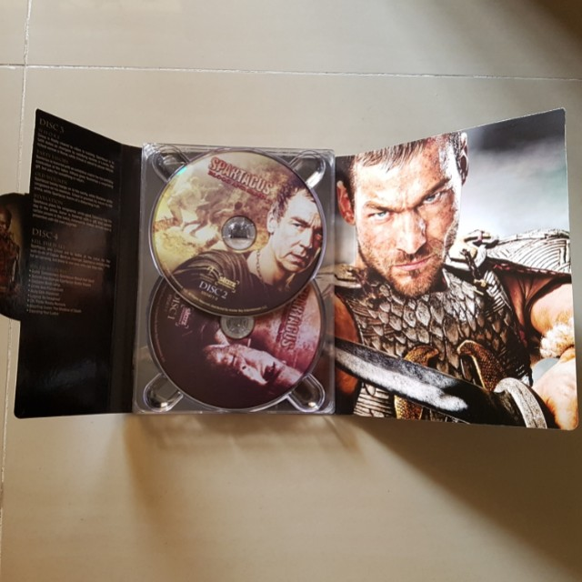 Spartacus blood and sand DvD collection