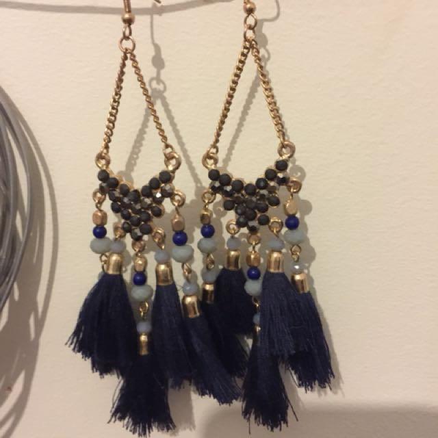 Sportsgirl festival earrings