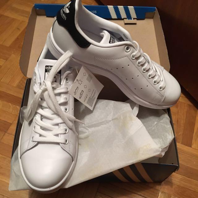 Stan Smith Adidas Originals Sz. 7.5M/9.5W Black/White Artizia #party927
