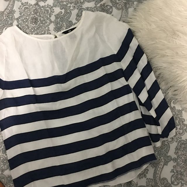 Striped h&m top