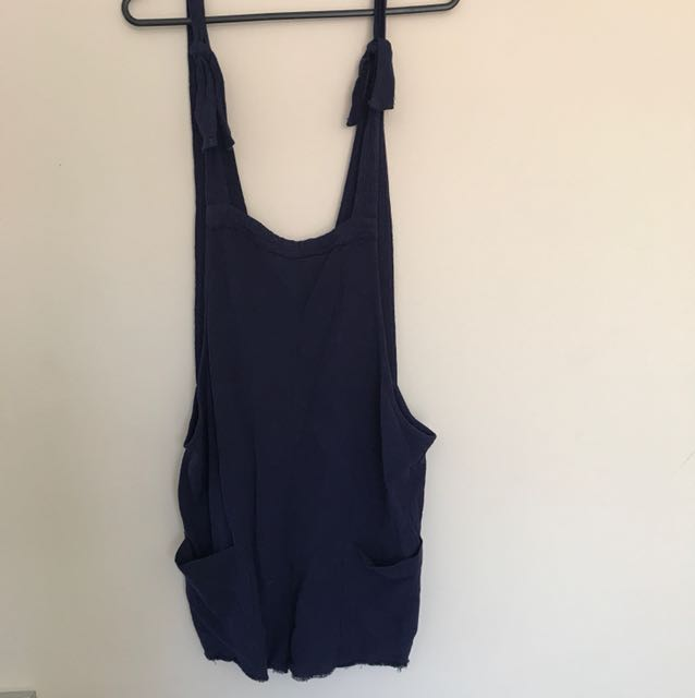 Swell tie up overalls