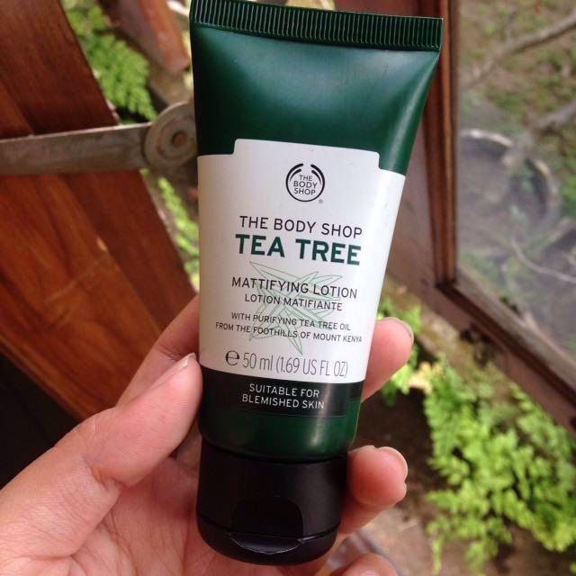 The body shop Tea Tree Mattifiying lotion