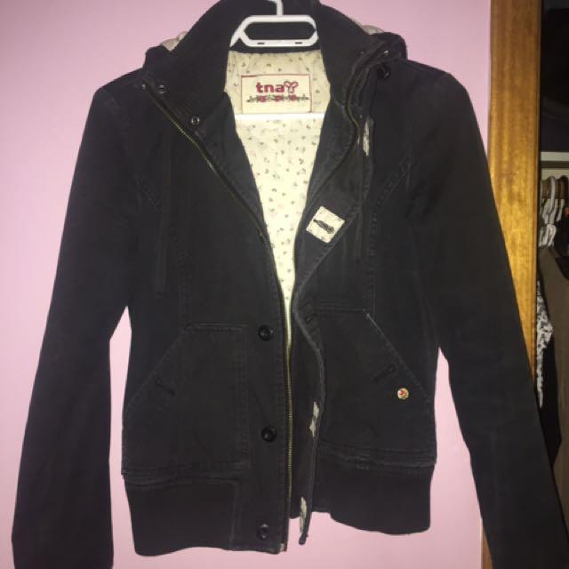 TNA Black fall jacket
