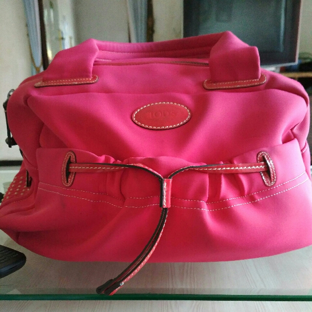 Tods bag nylon authentic