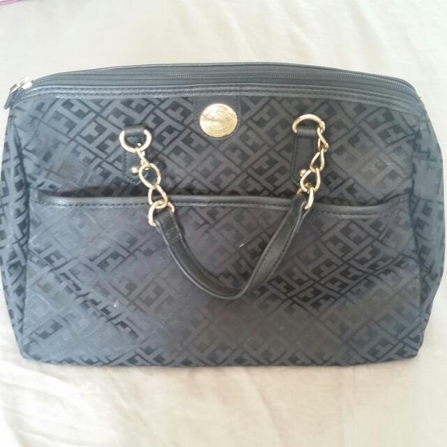 Tommy Hilfiger Black Hand Bag